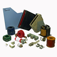 Parts : Arc Chutes, Armatures, Blowout Coils, Closing Coils, Contacts, Control Power Transformers, Finger Clusters, Phase Barriers, Vacuum Bottles